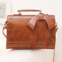 Retro Hollow Out Flower Bowknot Shoulder Bag