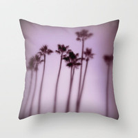 lilac twilight Throw Pillow by Marianna Tankelevich