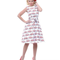 Heartbreaker Freddie's Bike Monique Dress - Unique Vintage - Prom dresses, retro dresses, retro swimsuits.