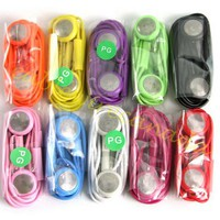 Colorful Headset for iPhone 4/4s (Purple)