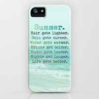 SUMMER iphone case  only thru SUNDAY by Mnika  Strigel	 | Society6