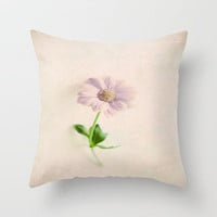Mother's day Flower I Throw Pillow by secretgardenphotography [Nicola]