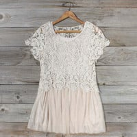 Boheme Lace Tunic in Cream, Sweet Country Inspired Clothing