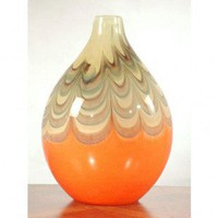 Dale Tiffany Splendor Bulbous Vase - PG60142