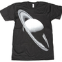 Mens SATURN SPACE T SHIRT Planet Art american apparel t-shirt