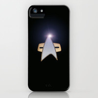 Star Trek communicator iPhone Case by JT Digital Art 