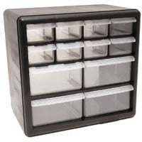 Amazon.com: HOMAK HA01012001 12-Drawer Plastic Parts Organizer: Home Improvement