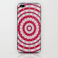 Scarlet carousel iPhone &amp; iPod Skin by Baggieoldboy