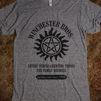 SUPERNATURAL WINCHESTER BROTHERS - This Charming Fan Designs