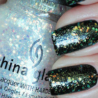 New! CHINA GLAZE~ WICKED COLLECTION ♥ MAKE A SPECTACLE ♥ Nail Lacquer Polish!