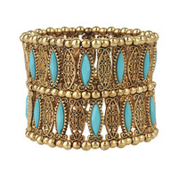 Filigree Beaded Bracelet | FOREVER21 - 1000040663