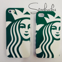 Very detail Starbucks iPhone 4 and iPhone 5 protective cases very detail Art work -not a case print or scan work-