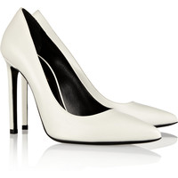 Saint Laurent | Leather pumps | NET-A-PORTER.COM