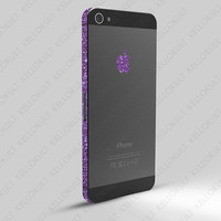iPhone 5 Sparkling Amethyst Wrap