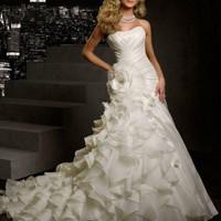 2013 New white/ivory wedding dress custom size 2-4-6-8-10-12-14-16-18-20-22++