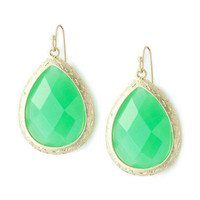 Pree Brulee - Mint Tea Earrings