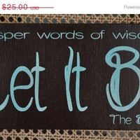FLINGintoSPRING Sale The Beatles Let it Be by everlastingdoodle