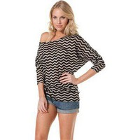 SWELL SHELBY CHEVRON TOP > Womens > Clothing > Shirts & Tops | Swell.com