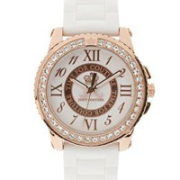 Juicy Couture Timepieces | Juicy Couture White Watch at ASOS