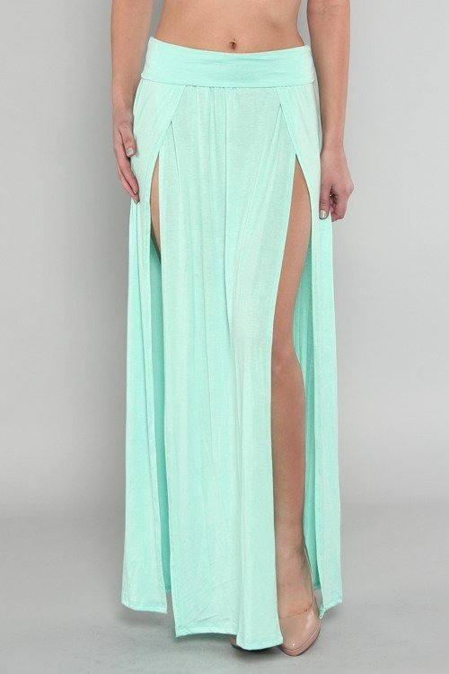maxi slit skirt appealing from appealingboutique