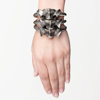 Stacked Vertebrae Bracelet by Skingraft at Street Anatomy