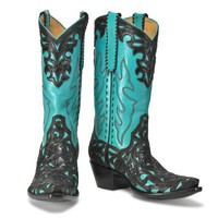 Filigree Tooled Turquoise