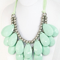 Tear Drop Bubble Necklace
