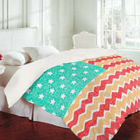 DENY Designs Home Accessories | Nick Nelson Zig Zag Flag Duvet Cover