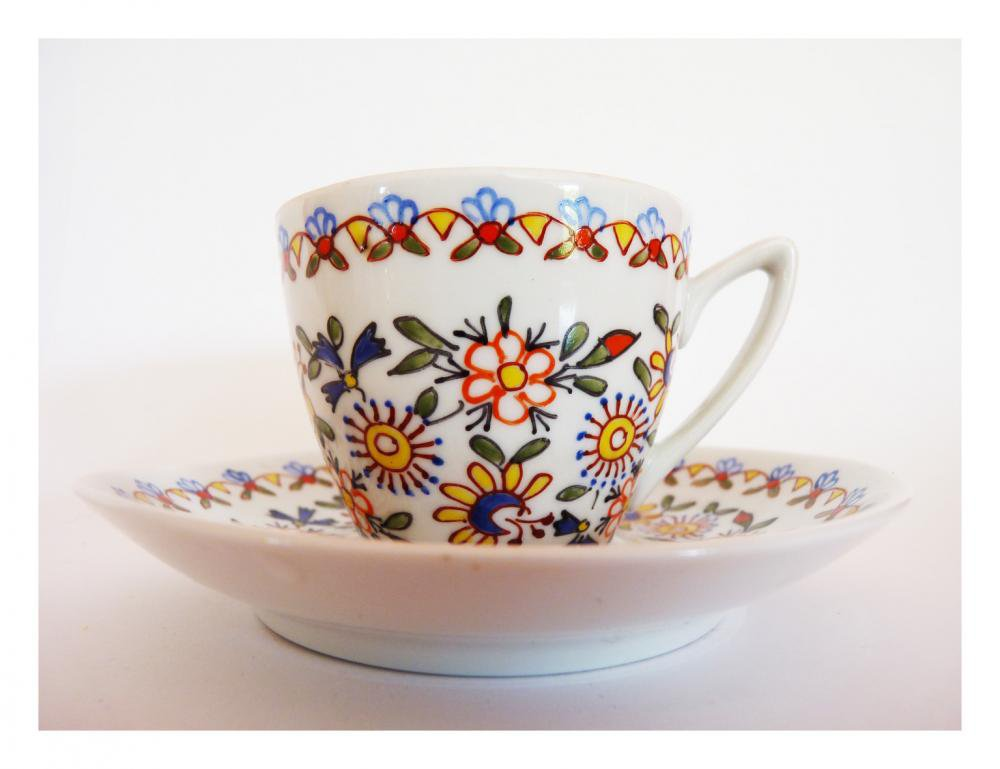 Tea Party Set Of 2...hand Painted Cups Will Play Along. | Luulla