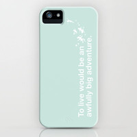 Peter Pan - Mint iPhone Case by SamAnne | Society6