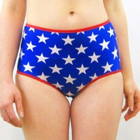 Wonder Woman high rise knickers panties