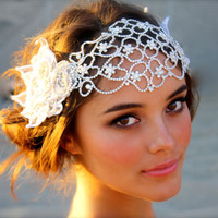 $600.00 Juliet Cap Bridal Head Dress by DolorisPetunia on Etsy