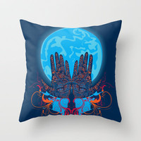 Mystery Throw Pillow by Deepti Munshaw | Society6