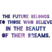 Eleanor Roosevelt Quote Dream Print