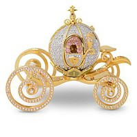Jeweled Cinderella Coach Figurine by Arribas | Disney Store
