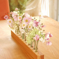wood vase for wedding romantic - 2 -