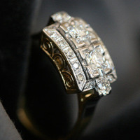Diamond Engagement Ring by Ruby Gray&#x27;s | Ruby Gray&#x27;s Antique &amp; Vintage Rings