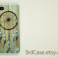 vintage dreamcatcher on wood  Case iPhone 4 Case iPhone by 3rdCase