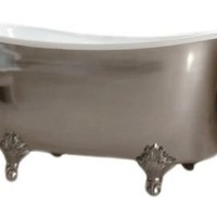 One Kings Lane - Waterworks - Candide Freestanding Oval Bathtub