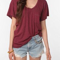 Urban Outfitters - Truly Madly Deeply Scoopneck Pocket Tee