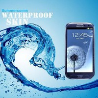 mobilephonespare Waterproof Skin Case for Samsung Galaxy S3 Multi Purpose Protective Skin for Underwater Activity, Fishing, Ski, Snowboarding, Sand-proof, Dustproof, Bath Tub