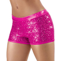 Flashy Glitter Sequin Dance Shorts; Balera