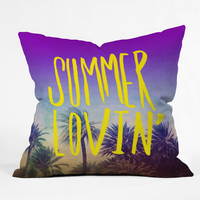 DENY Designs Home Accessories | Leah Flores Summer Lovin Throw Pillow