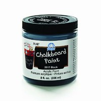 Amazon.com: FolkArt 2517 8-Ounce Chalkboard Paint, Black: Arts, Crafts & Sewing