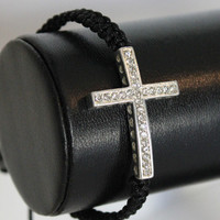Instafashion  Cross Heart Bracelet