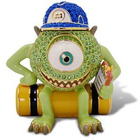 Limited Edition Jeweled Monsters, Inc. Figurine by Arribas -- Mike Wazowski | Disney Store