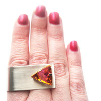 Limited Special Edition Swarovski Crystal Statement Ring