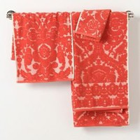 Perpetual Blooms Towels - Anthropologie.com