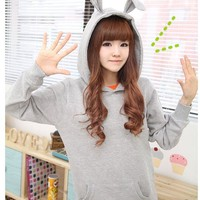 Kawaii Clothing | Sudadera Conejo / Rabbit Hoodie 2WH026 | Online Store Powered by Storenvy