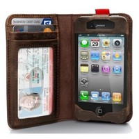 Read BookBook Leather Case for iPhone 4/4S